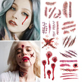 Fake tattoo Injury Makeup - True crime shop