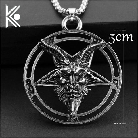 Baphomet Inverted Pentagram - True crime shop