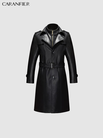 Elegant black trenchcoat - True crime shop