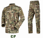 Multicam Black Military Uniform Camouflage Suit - True crime shop