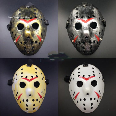Jason Voorhees Friday the 13th Horror Hockey Mask - True crime shop