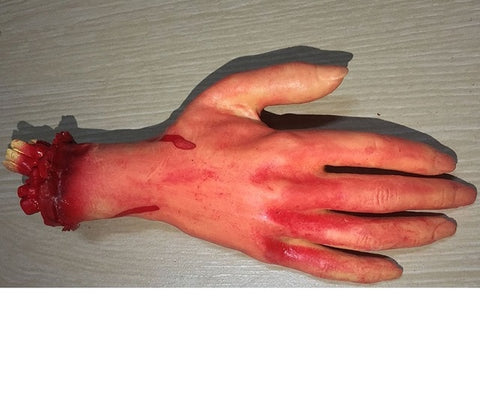 Halloween fake limbs - True crime shop