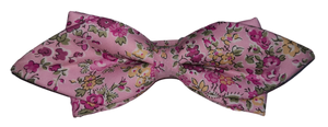 Noeud papillon liberty rose
