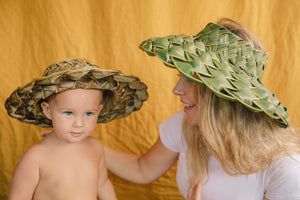 Coconut Palm Hat from Hawaii