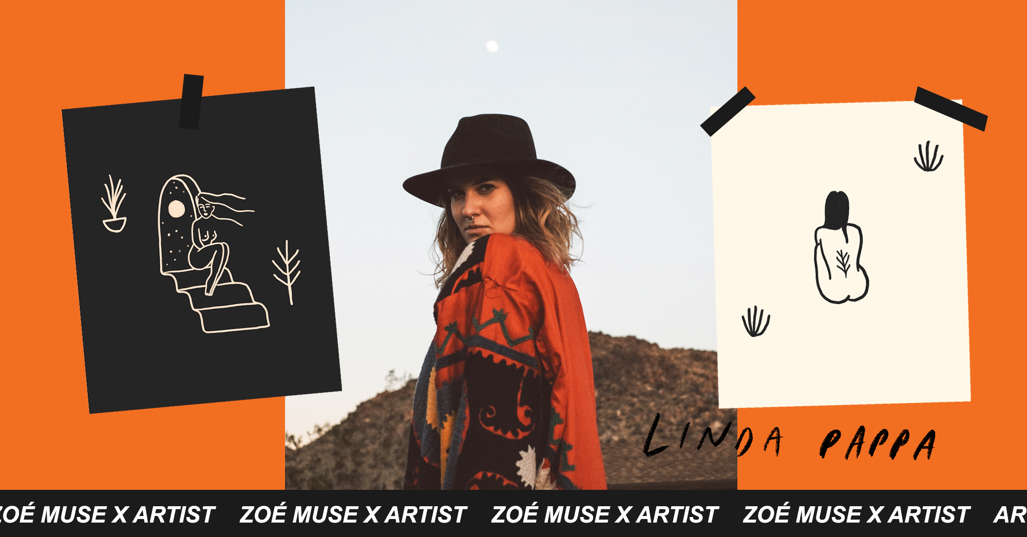 Linda Pappa x Zoé Muse | GREECE