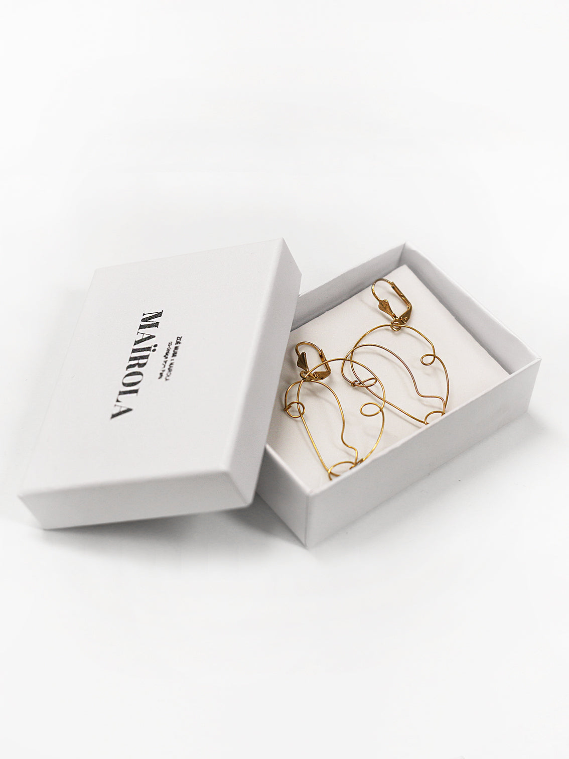 SOLD OUT<br>MAIROLA - Face earrings