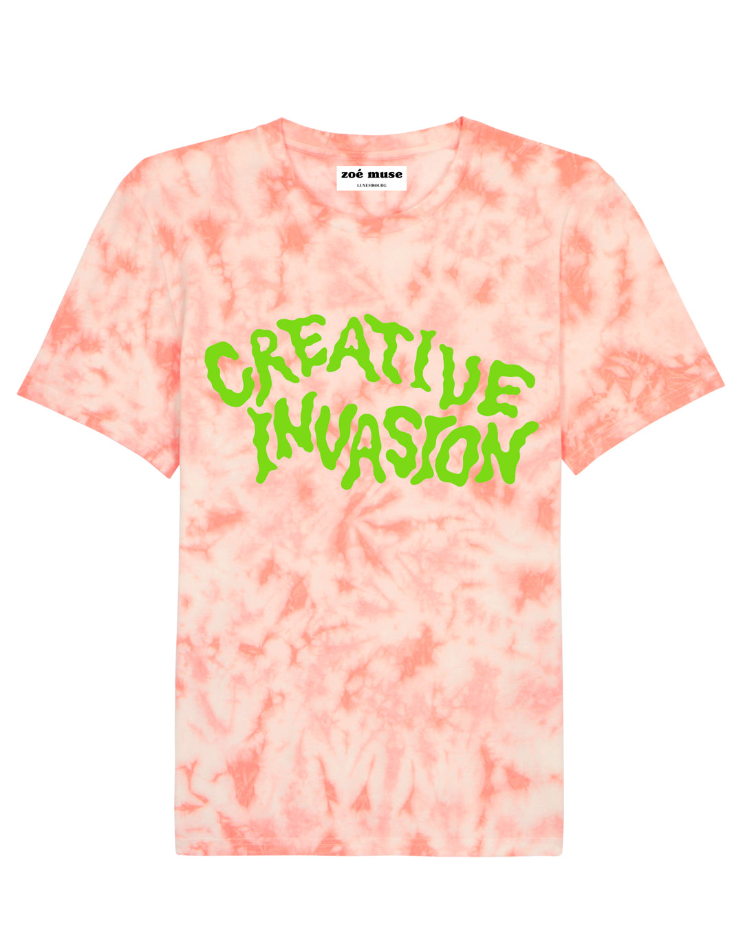 creative invasion_alien_sustainable_organic_fairwear_unisex_t-shirt_artist_collaboration_illustration_new collection_spring summer 2020