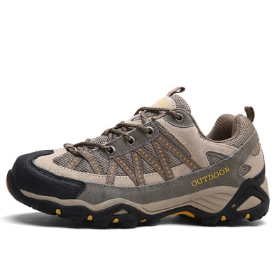 Men women hiking shoes outdoor Sneakers men mountain climbing trekking shoe male hunting trek sport shoes non-slip chasse