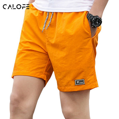 CALOFE 2018 Men 5XL Board Shorts Brief Sport Trunks Swim Beach Shorts Swimwear Bermuda Surf Short Male Swimsuit