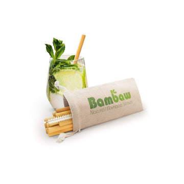 Bambaw bambus sugerør cocktail