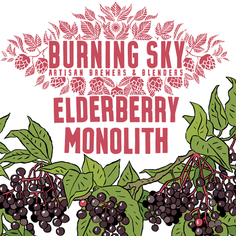 Elderberry Monolith 9.7% (750ml)
