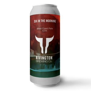 Six In The Morning West Coast Pale 4.4% (500ml)