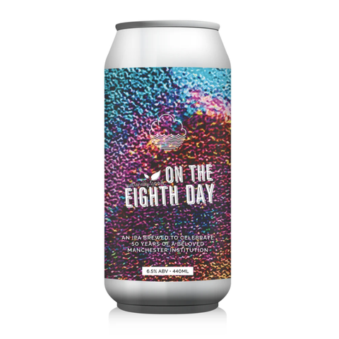 Eighth Day IPA 6.5% (Cloudwater x On the 8th Day Cafe) (440ml)