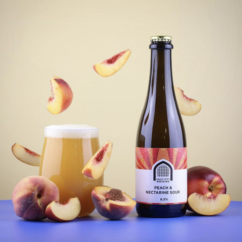 Peach & Nectarine Sour 6.5% (375ml)