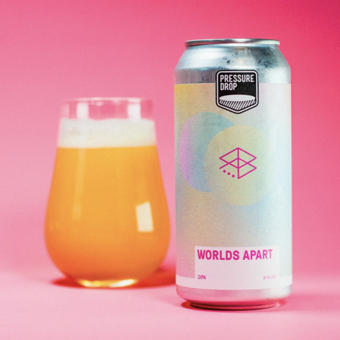 Worlds Apart DIPA (Range Brewing Collab)  8.5% (440ml)