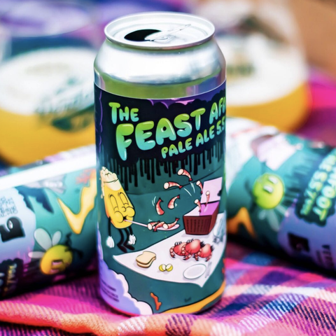 Bigfoot 2: The Feast Afoot Pale Ale 5.5% (440ml)