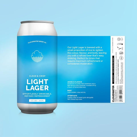 Light Lager 3.5% (440ml)