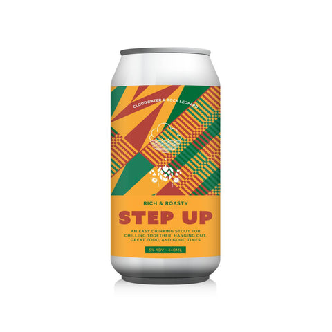 Step Up Stout 5% (440ml)