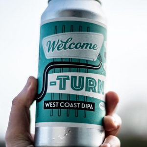 Welcome U Turn West Coast DIPA 8% (440ml)