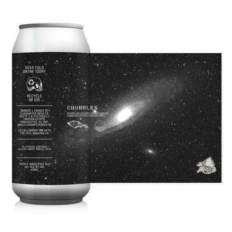 Chubbles TIPA (Cloudwater x The Veil) 10% (440ml)