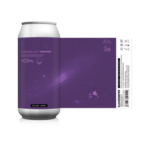 Chubbles3 Enhanced (Cloudwater x The Veil) TIPA 10%
