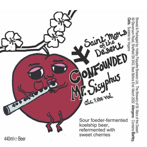Confounded Mr. Sisyphus Tart Cherry Beer 7.1% (440ml)