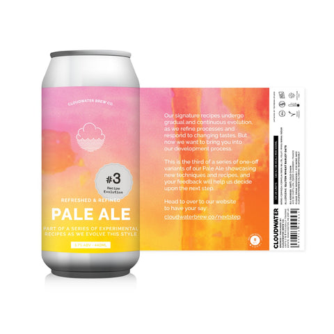 988 Pale Ale Recipe Evolution #4 3.7% (440ml)