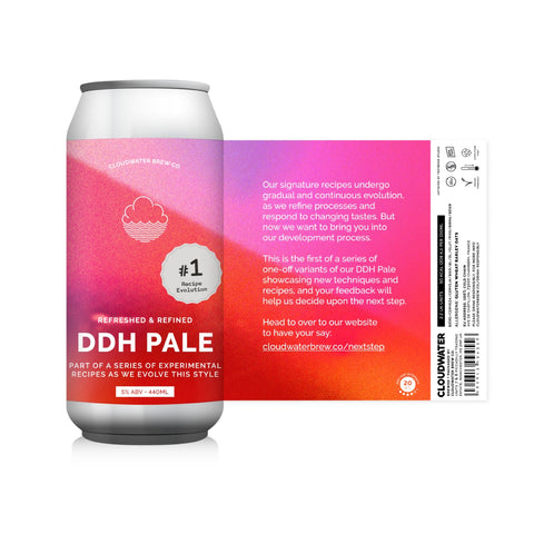 995 DDH Pale Ale Recipe Evolution #1 5% (440ml)