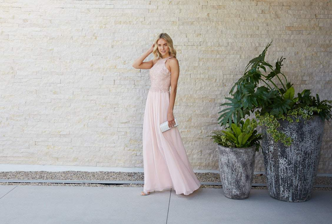 Ready for the Fall 2019 Gala in a Pink Gown