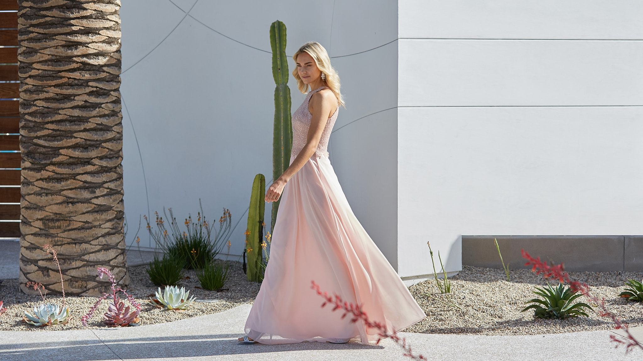 Senior Prom Dress Pink Cactus