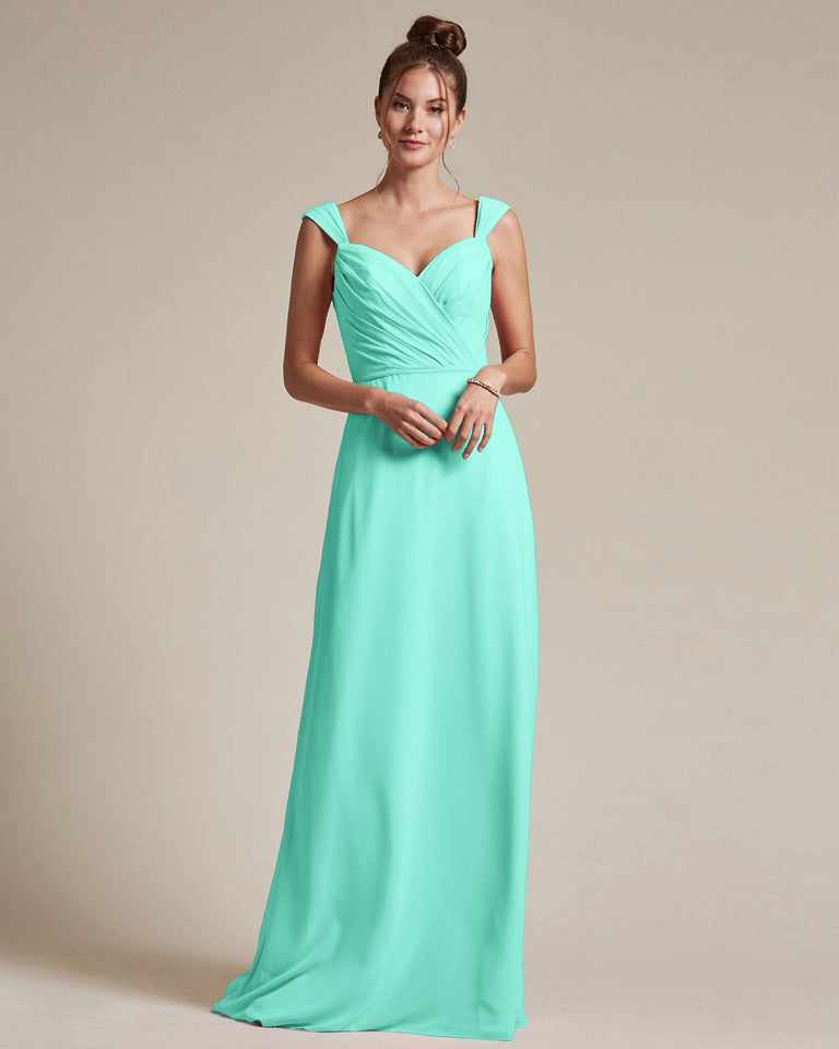Spa Sweetheart Neckline Long Length Skirt Bridesmaid Dress