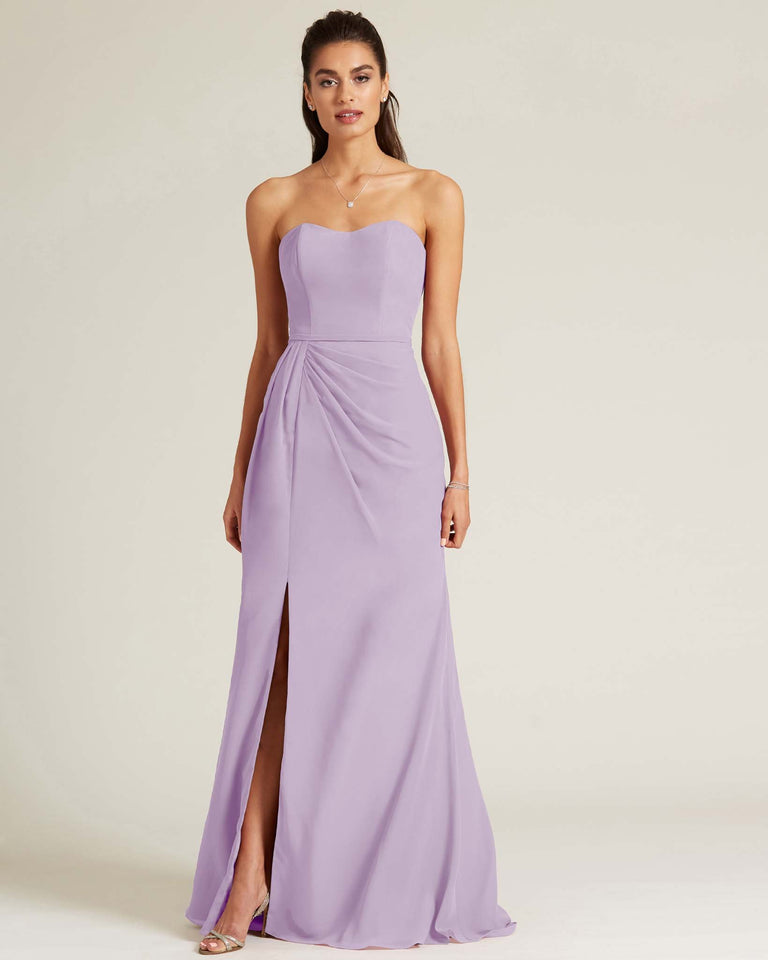 Tahiti Strapless Sweetheart Neckline Formal Gown