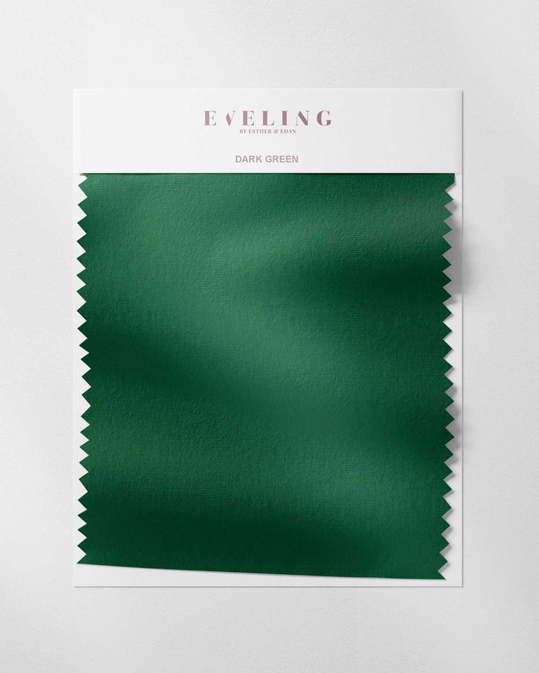Dark Green Fabric Swatch
