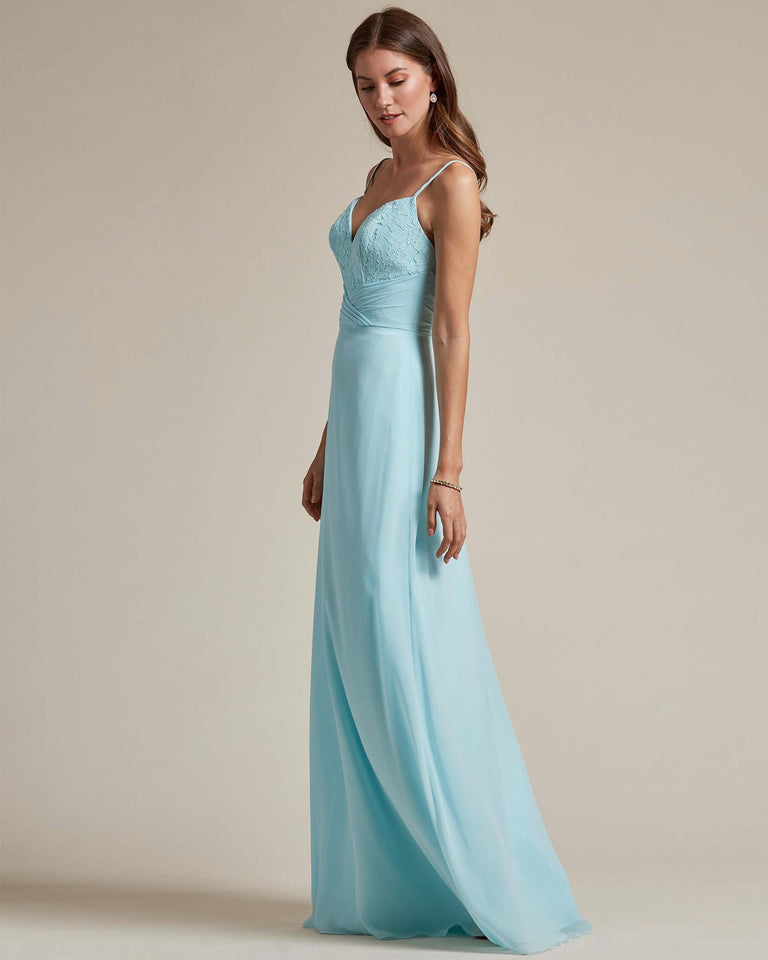 Pool Classic Sweetheart Shaped Top Formal Dress With Long Length Skirt