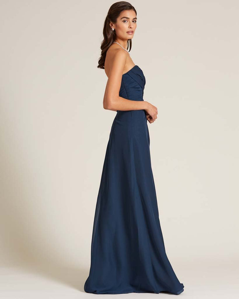 Jolly Green Strapless Sweetheart Neckline Gown