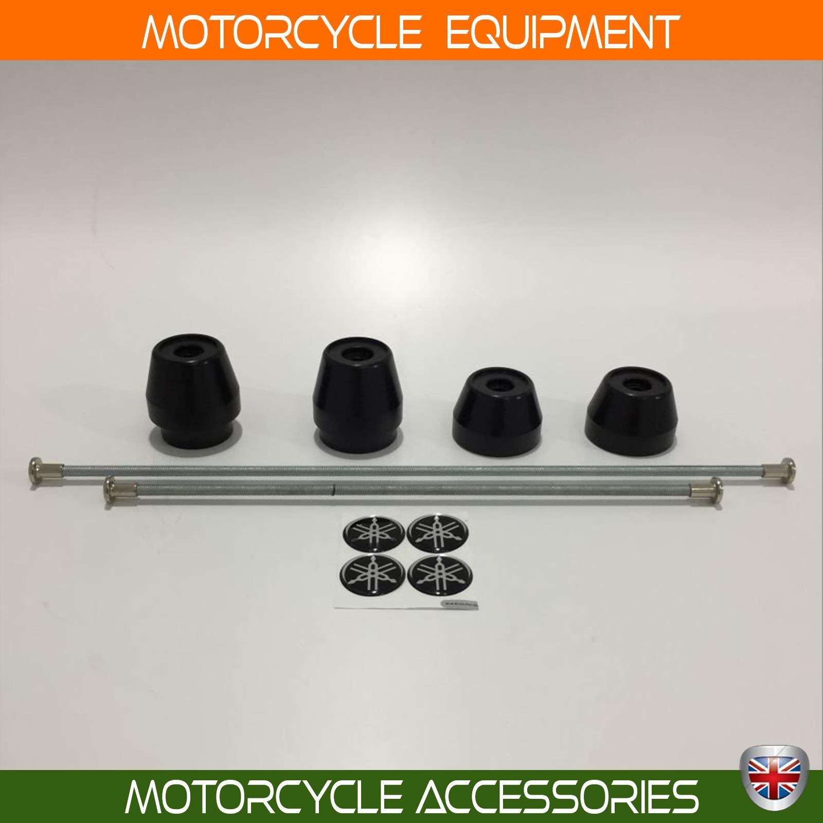 Yamaha Super Tenere 1200 Axle Guard Front and Rear as a pair 2011 2014