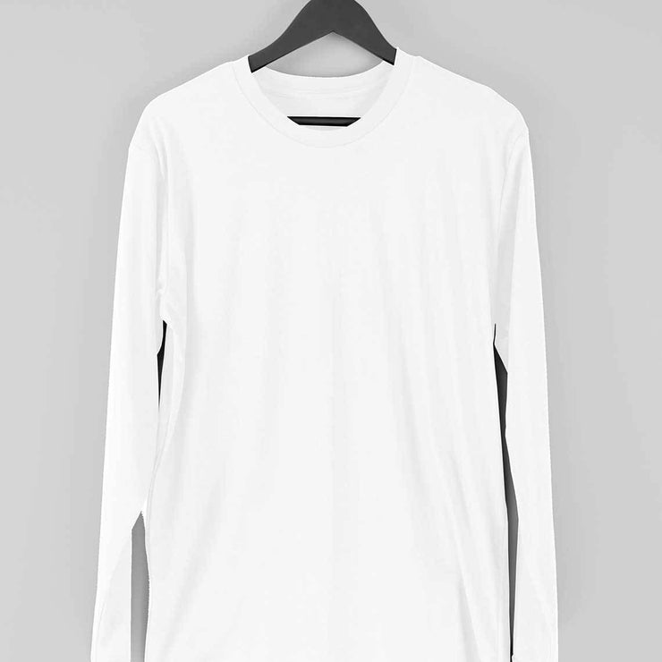Men's Plain Full Sleeve T-Shirt