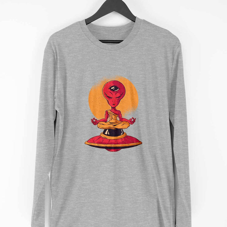 Alien Meditation Full Sleeve T-Shirt