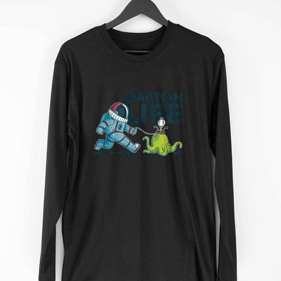 Life On Mars Full Sleeve T-Shirt