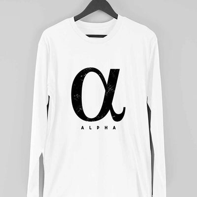 Alpha Full Sleeve T-Shirt