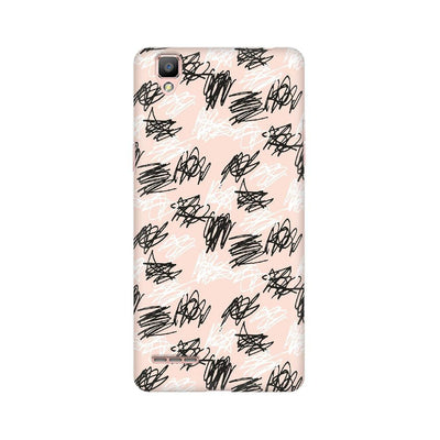 Brush Scribble Oppo Mobile Covers