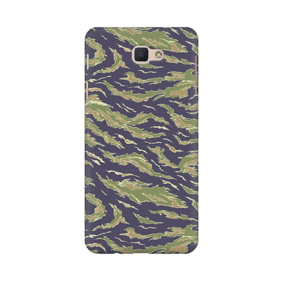 Scattered Green Camouflage Samsung Mobile Covers