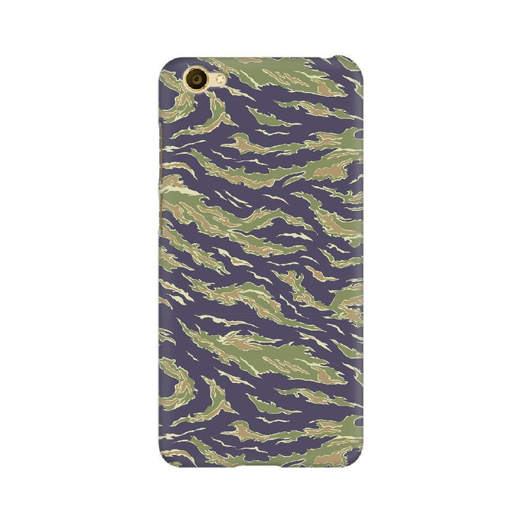 Scattered Green Camouflage Vivo Mobile Covers