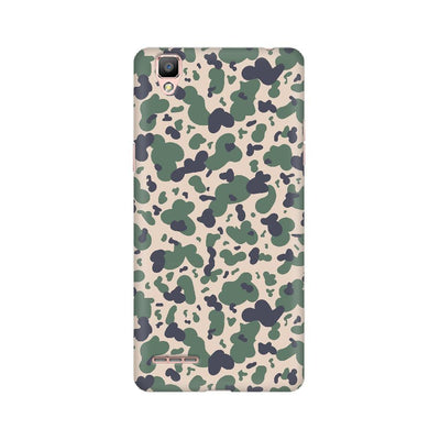 Scattered Oil Camouflage Oppo Mobile Covers