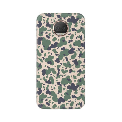 Scattered Oil Camouflage Motorola Mobile Covers