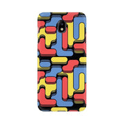 Color Blocks Samsung Mobile Covers