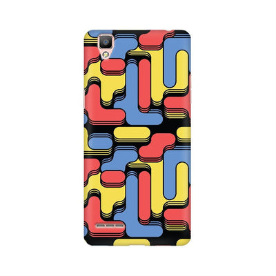 Color Blocks Oppo Mobile Covers
