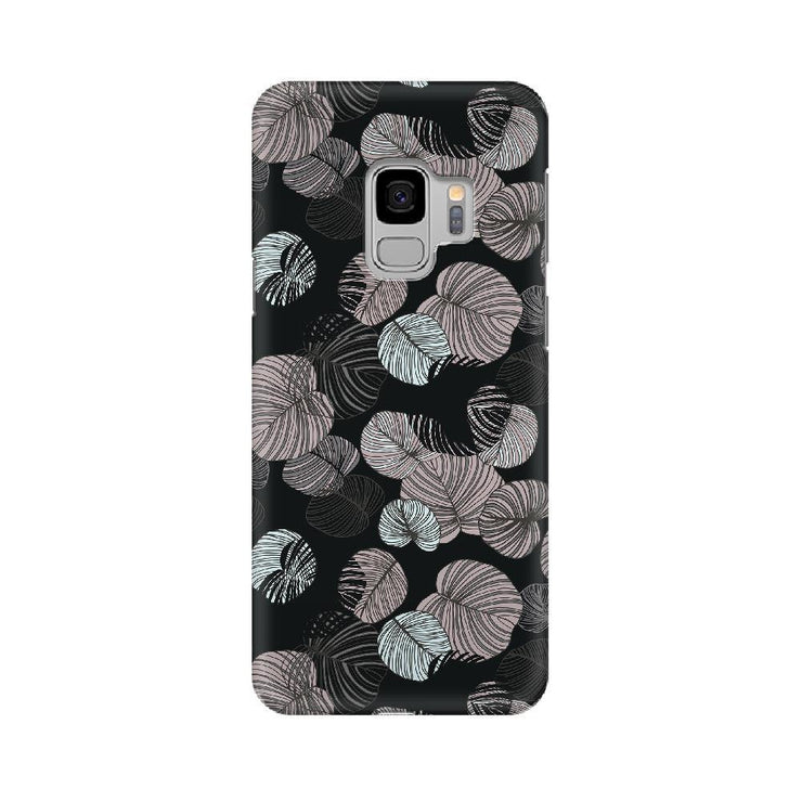 Leaves In Dark Samsung Mobile Covers