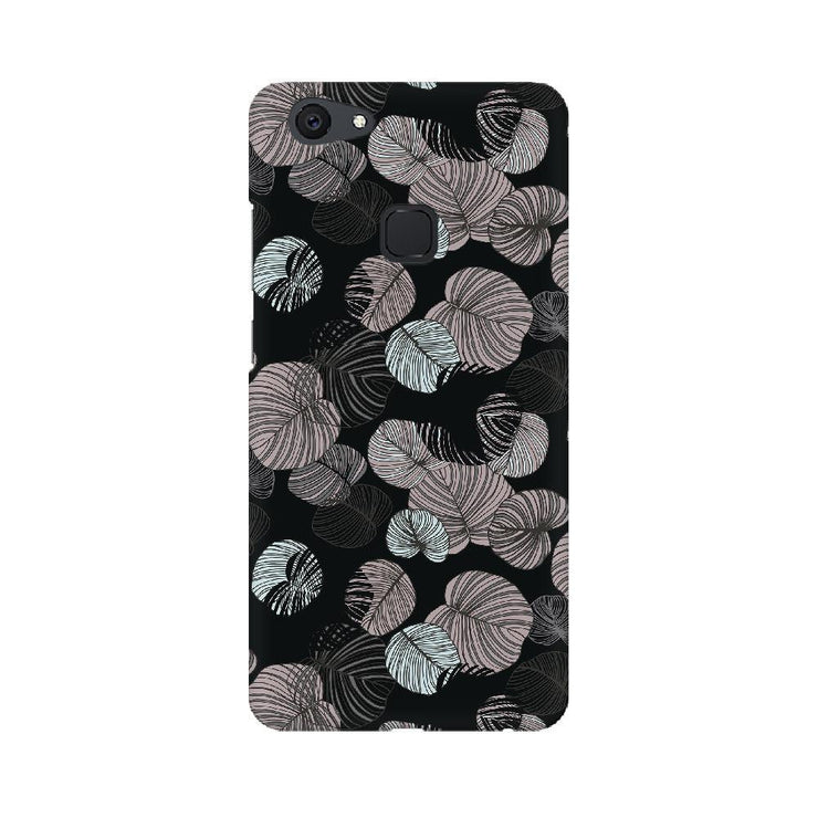Leaves In Dark Vivo Mobile Covers