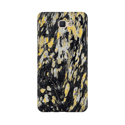 Black & Gold Wood Texture Samsung Mobile Covers